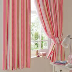 Kids Rainbow Burst Blackout Pencil Pleat Curtains