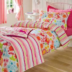Kids Rainbow Burst Collection Duvet Cover Set