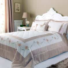 Gold Rosa Collection Bedspread