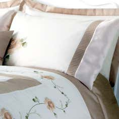 Gold Rosa Collection Housewife Pillowcase