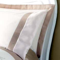 Gold Rosa Collection Oxford Pillowcase