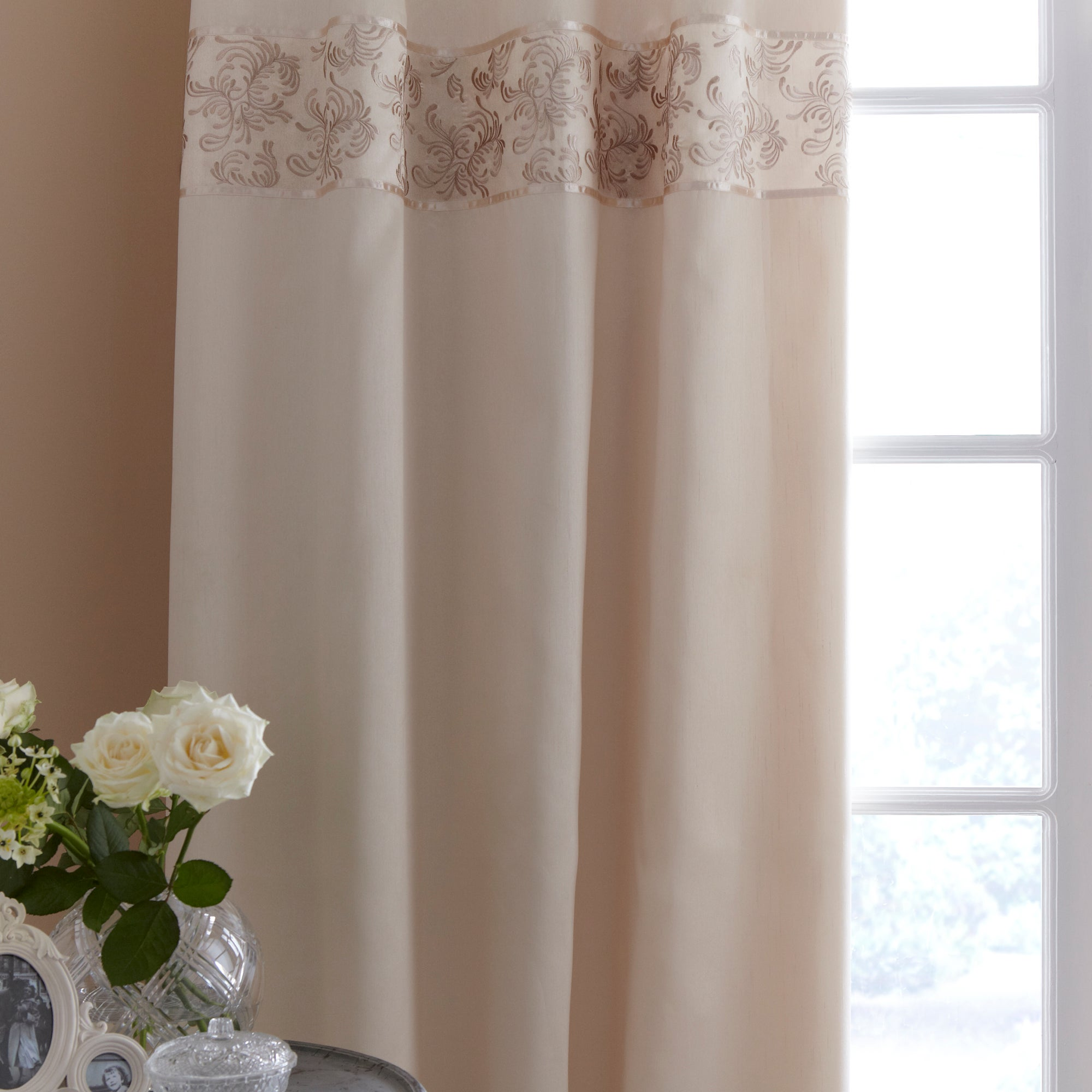 Gold Sofia Thermal Lined Pencil Pleat Curtains