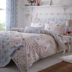 Duck Egg Viola Collection Duvet Cover
