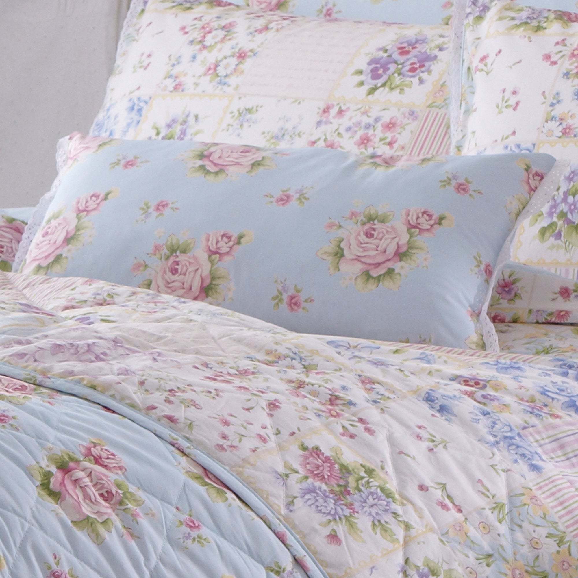 Duck Egg Viola Bedlinen Collection