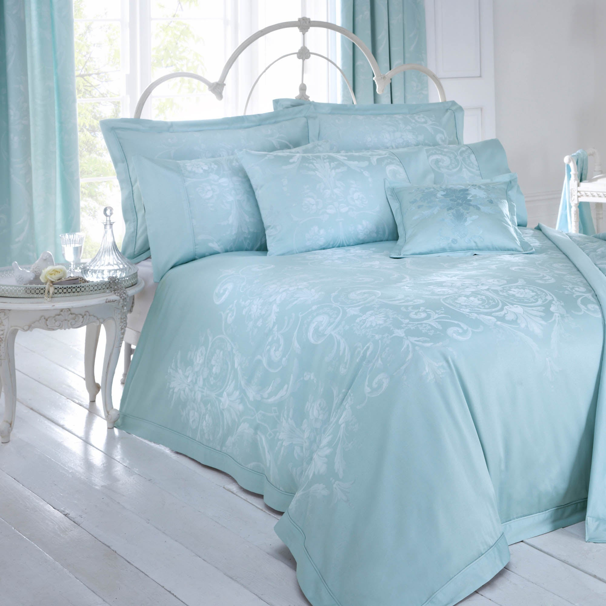 Dorma Duck Egg Regency Collection Duvet Cover
