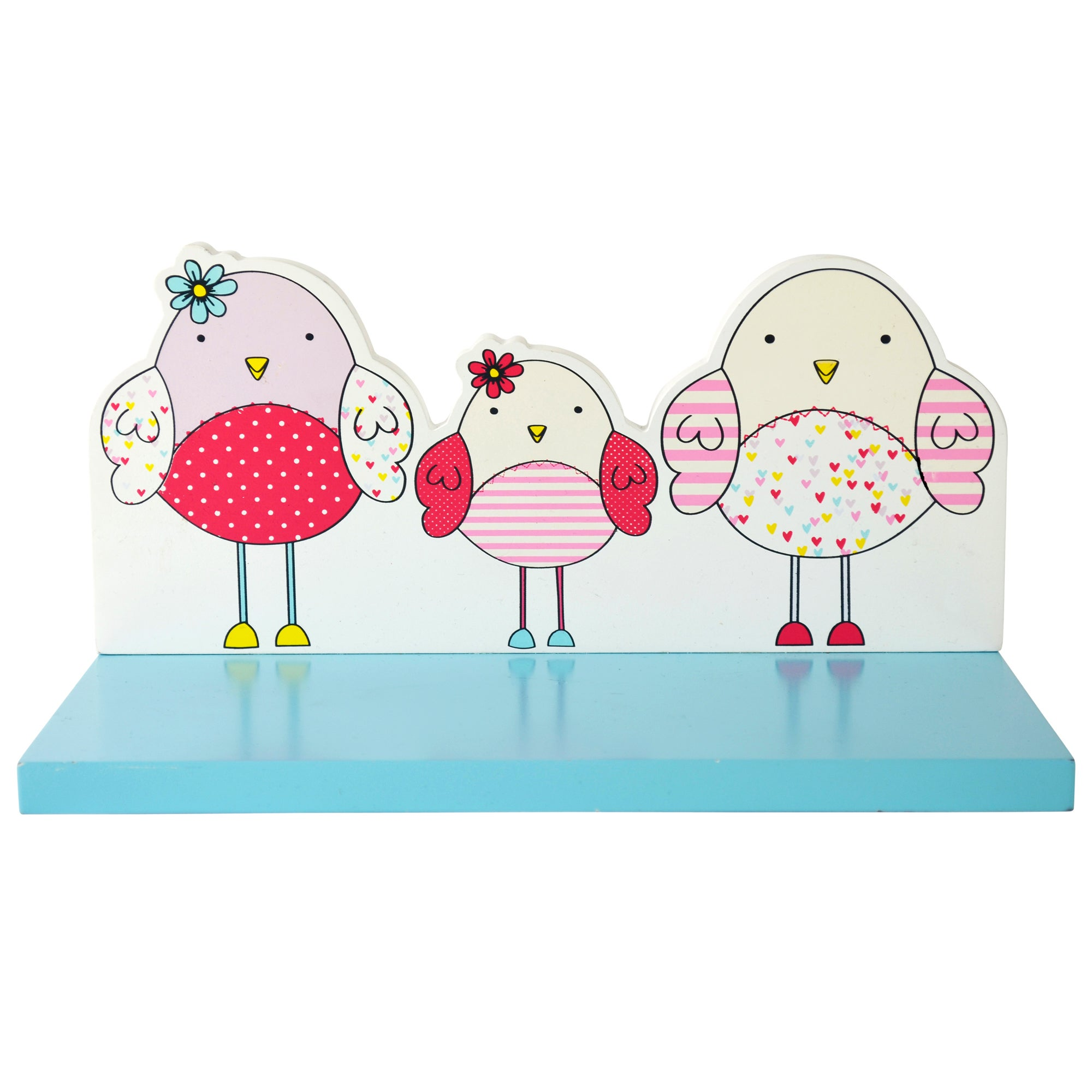 Kids Bella Birdy Collection Shelf