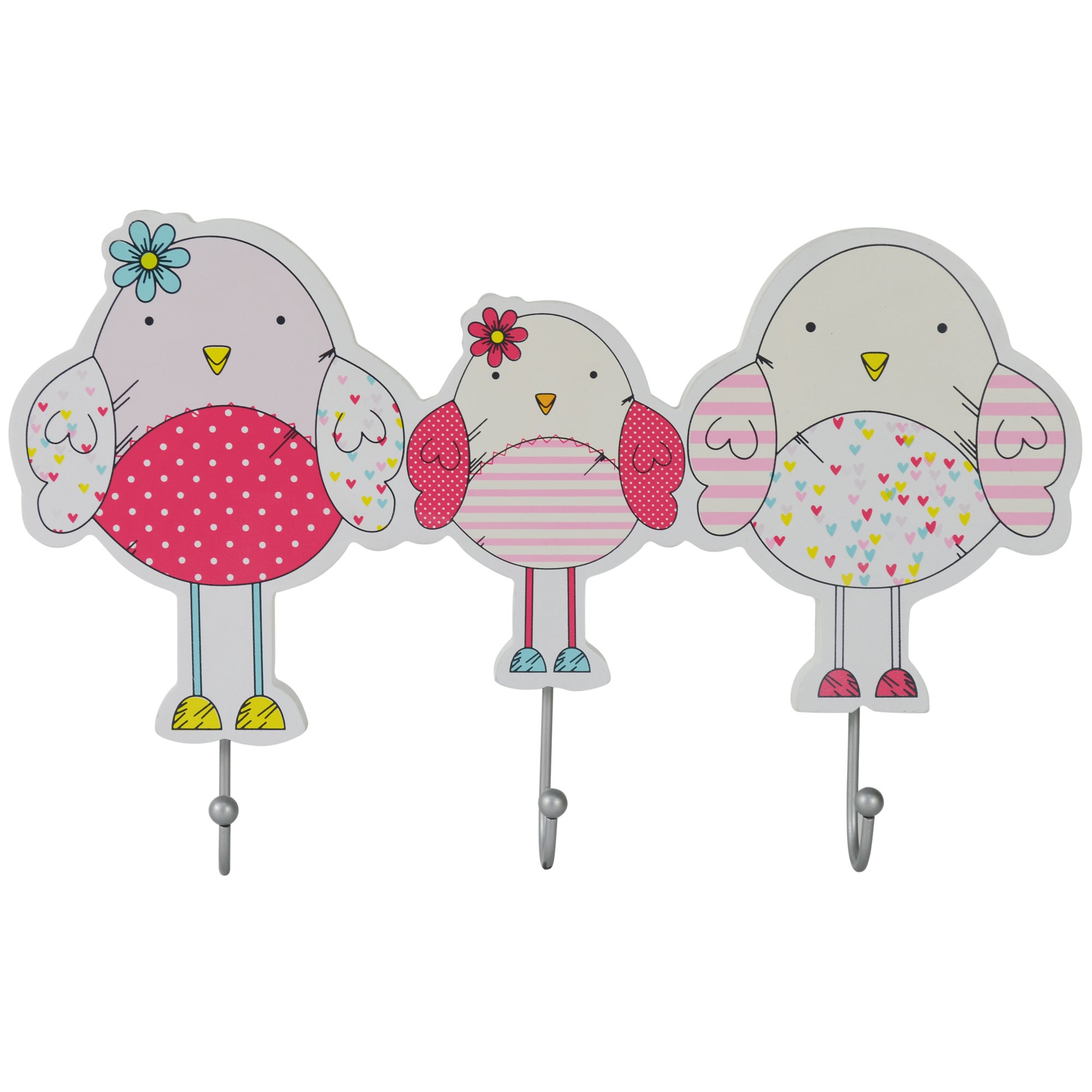 Kids Bella Birdy Collection Wall Hook
