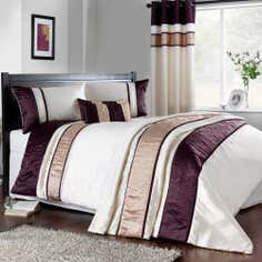 Plum Manhattan Collection Duvet Cover
