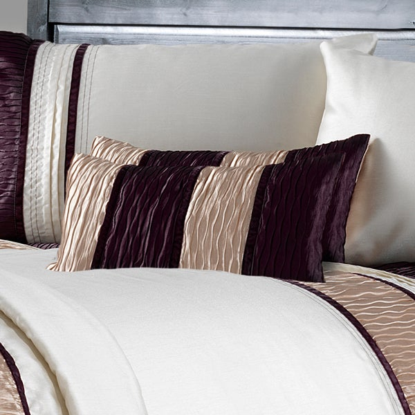 Plum Manhattan Collection Boudoir Cushion