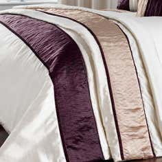 Plum Manhattan Collection Throw