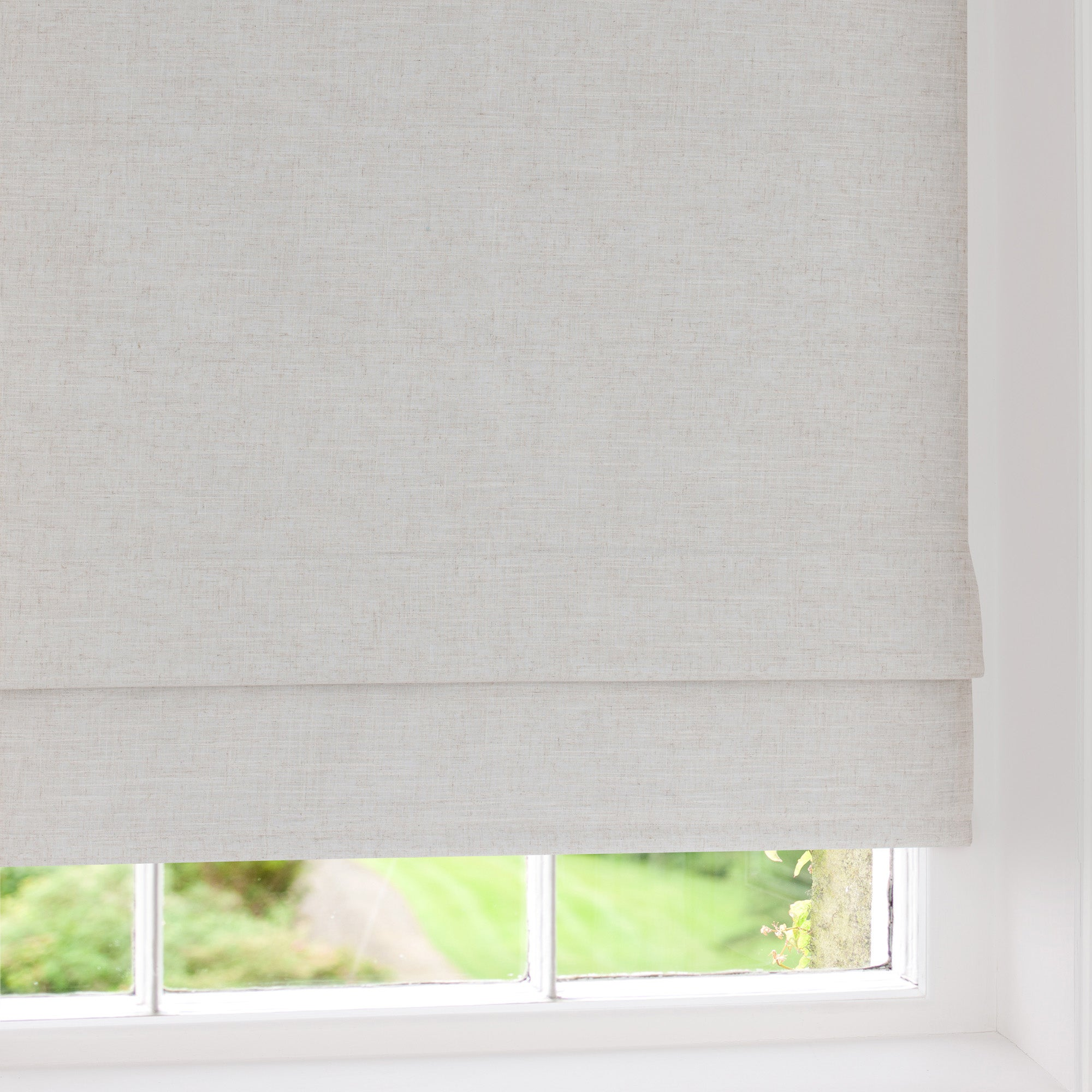 Linen Blackout Roman Blind
