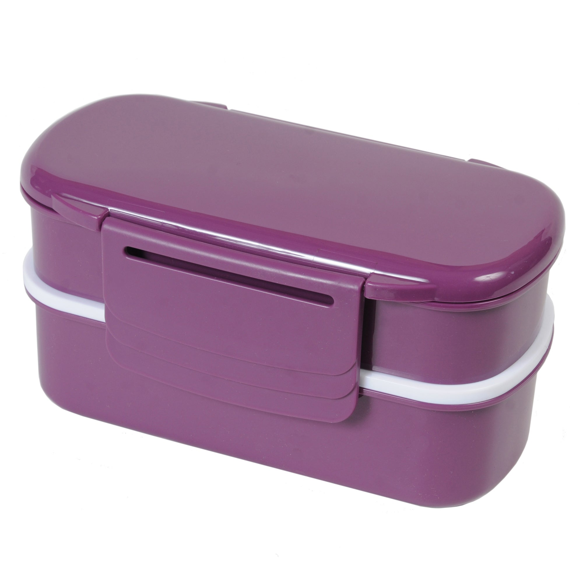 Berry Polar Gear 1.1L 2 Tier Bento Box with Cutlery