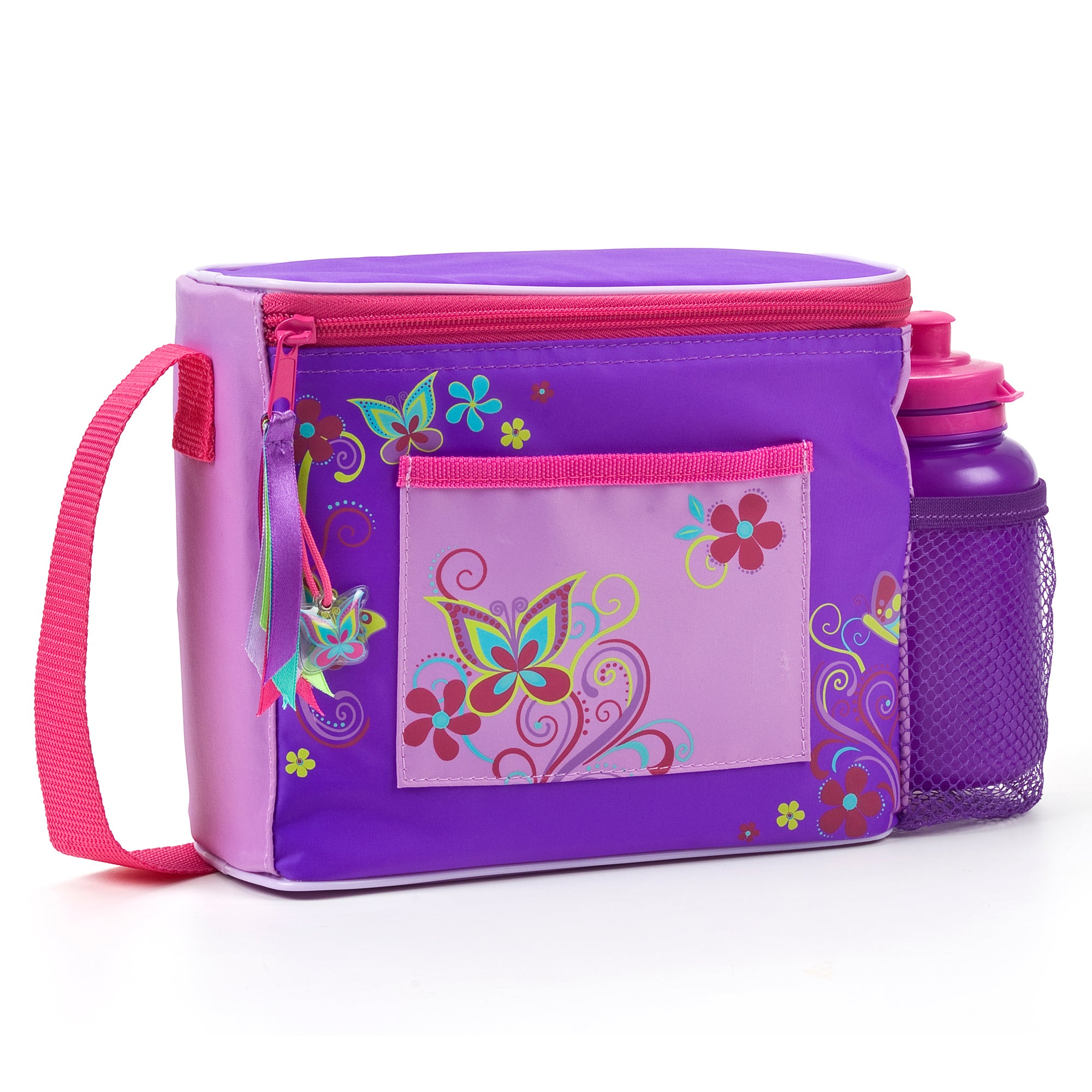 Polar Gear Butterfly Swirl Lunch Bag and Bottle