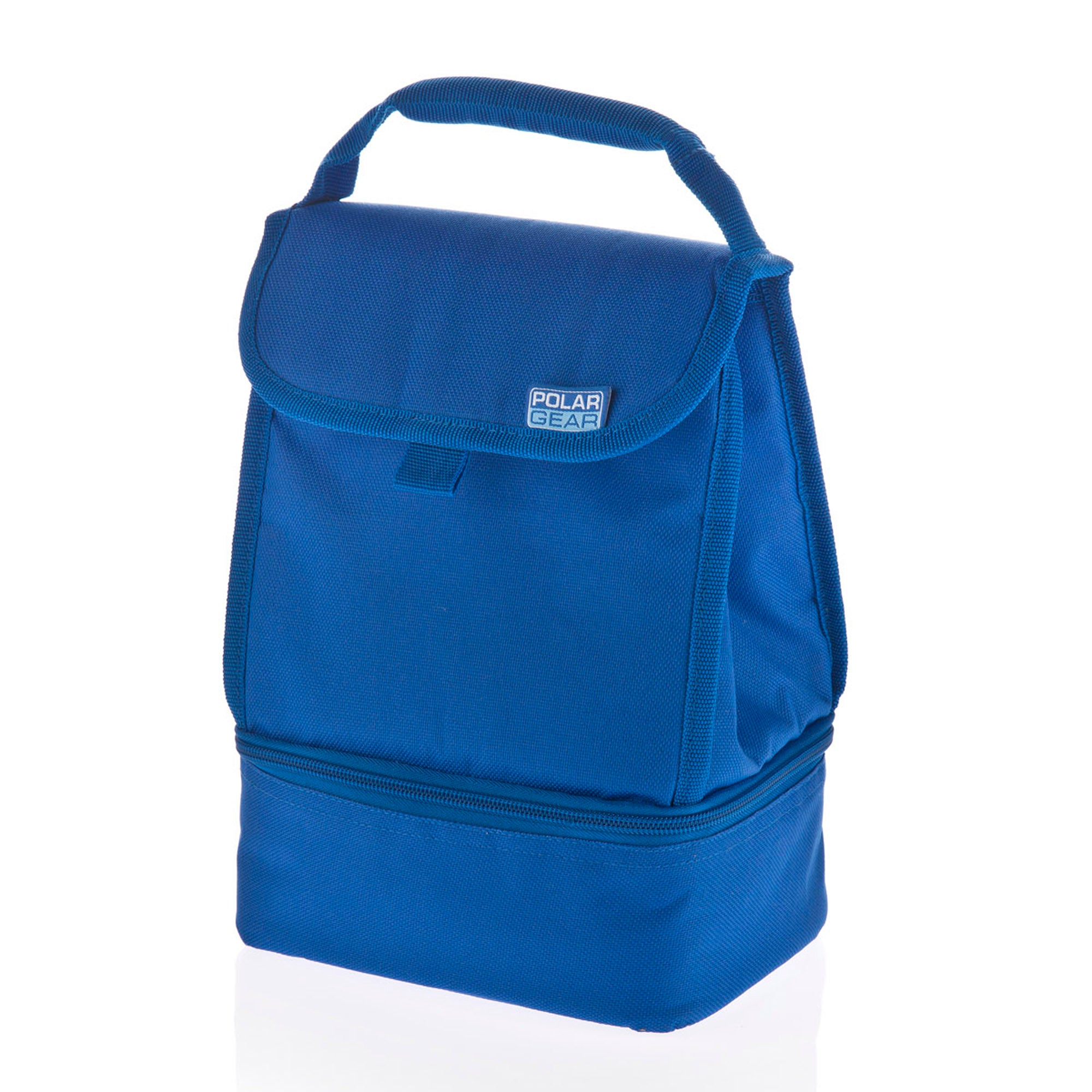 Polar Gear Two Compartment Blue Cooler Bag
