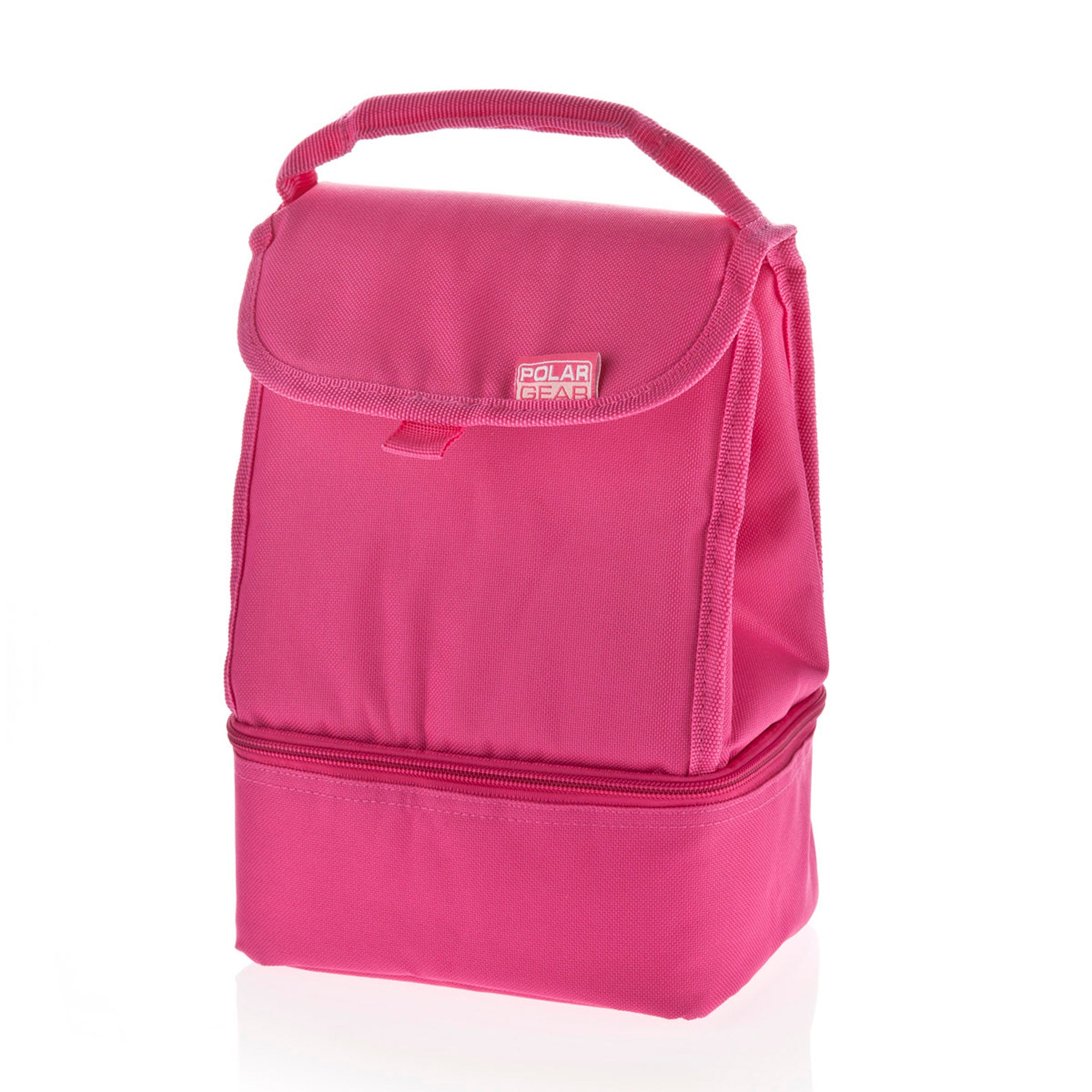 Polar Gear Two Compartment Pink Cooler Bag