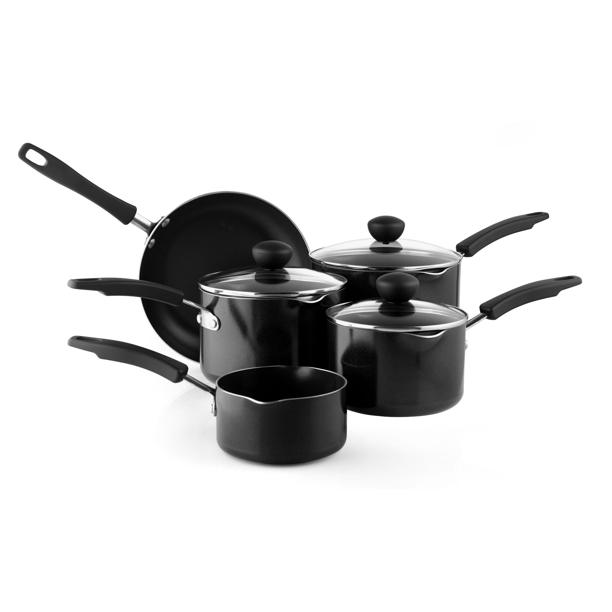 Aluminium 5 Piece Pan Set