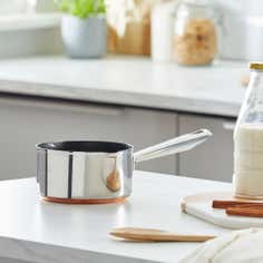 Infinity Copper Collection Milk Pan