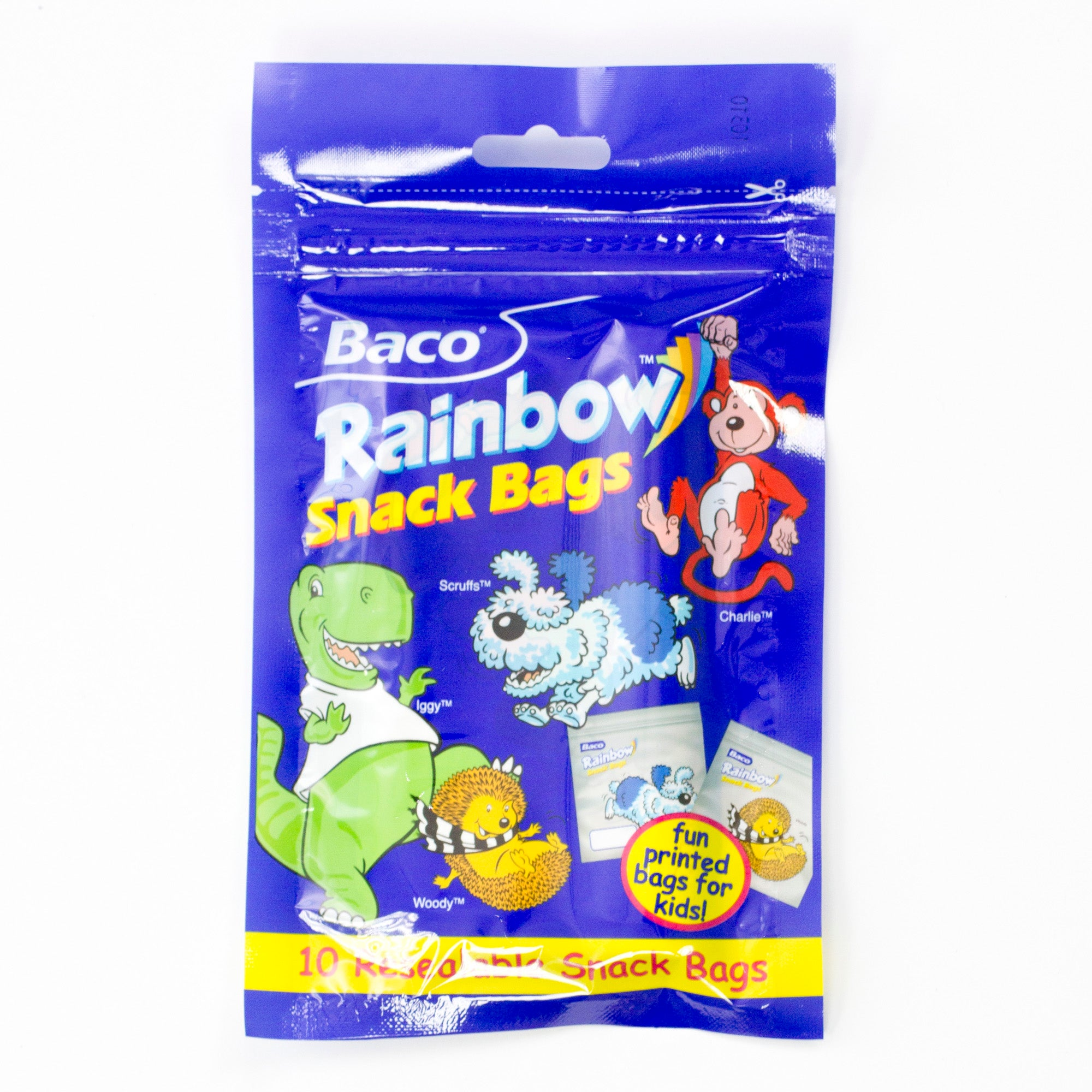Baco Rainbow Snack Bags
