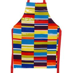Boys Striped Junior Apron