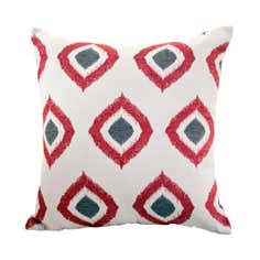 Chenille Diamonds Cushion