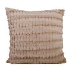 Deco Fur Filled Cushion