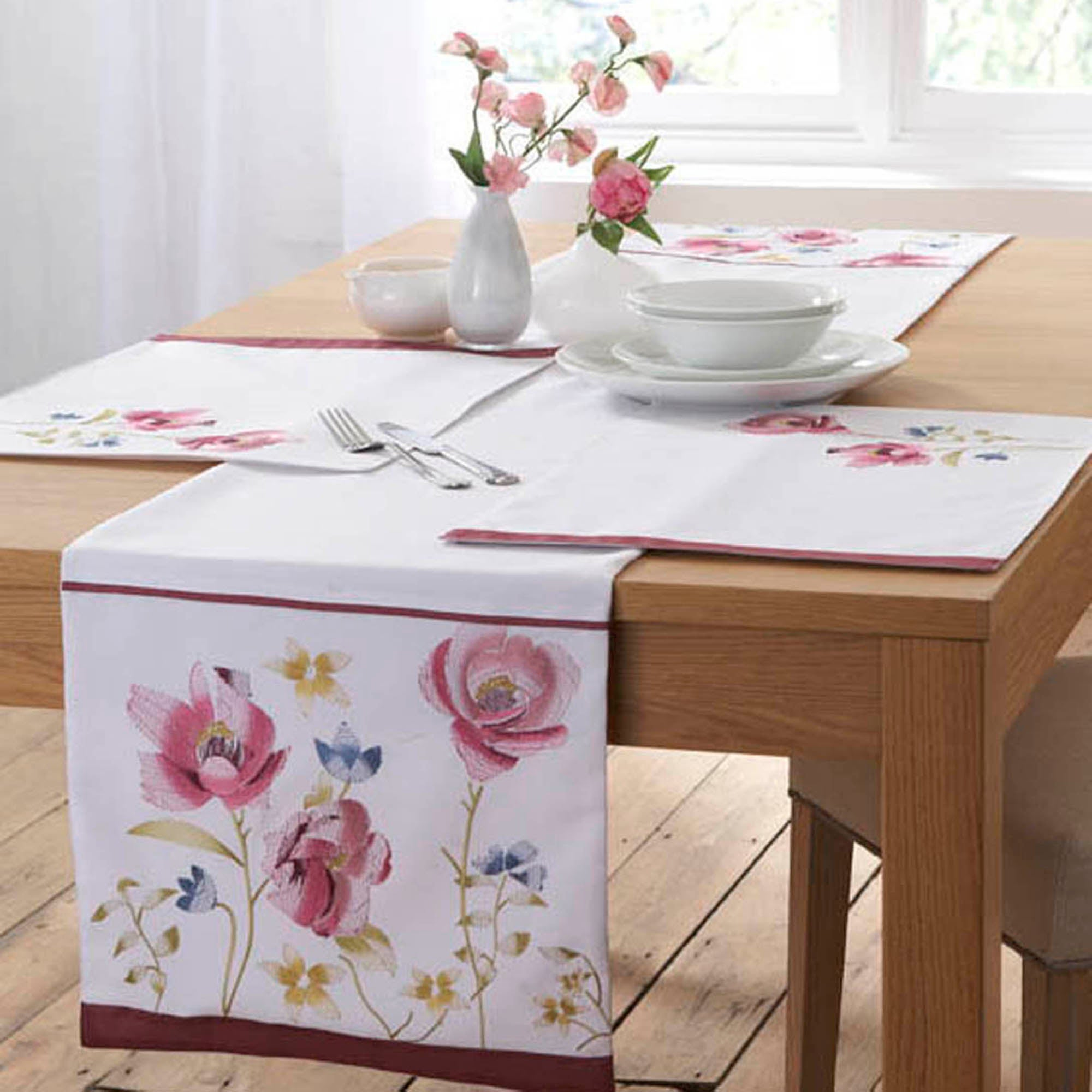 Floral Watercolour Collection Runner