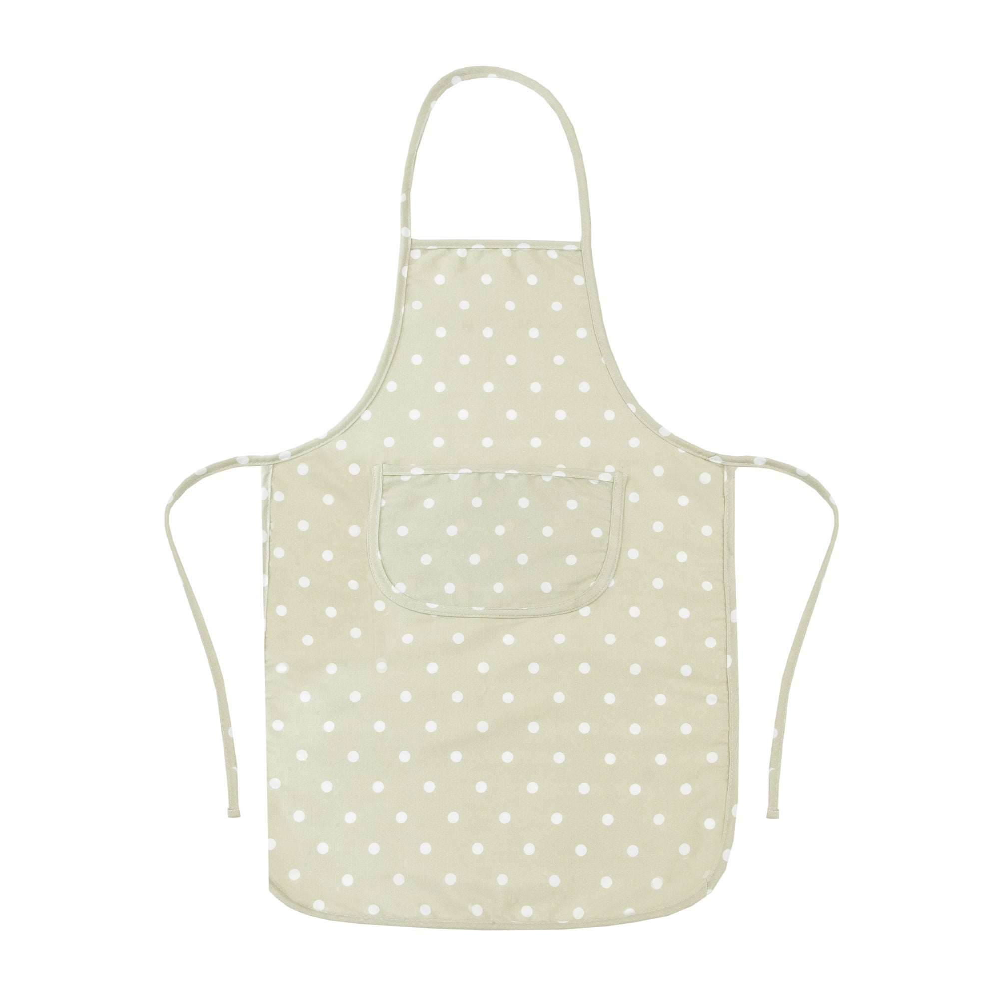 Sage Dotty Collection Padded Apron