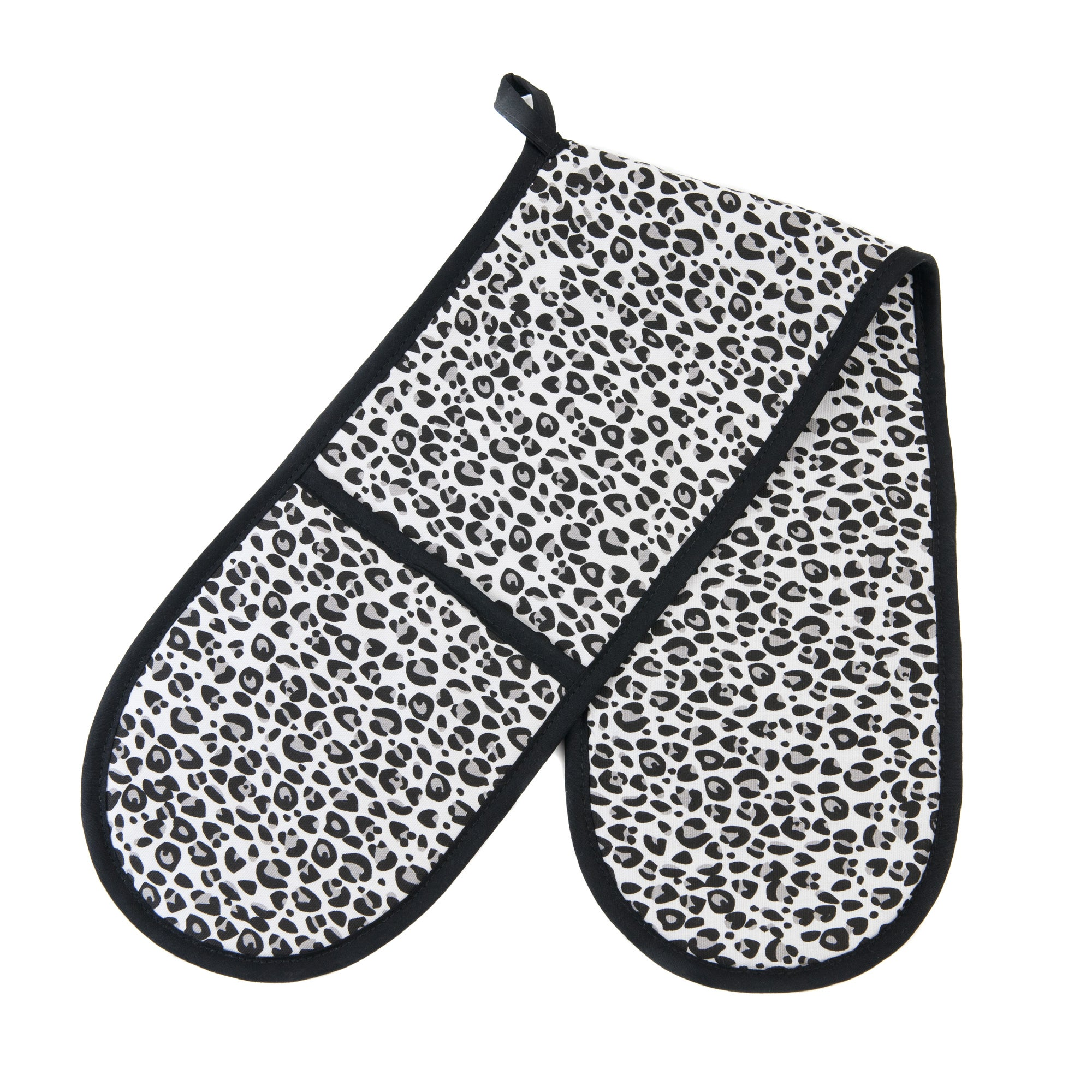 Leopard Print Collection Double Oven Glove