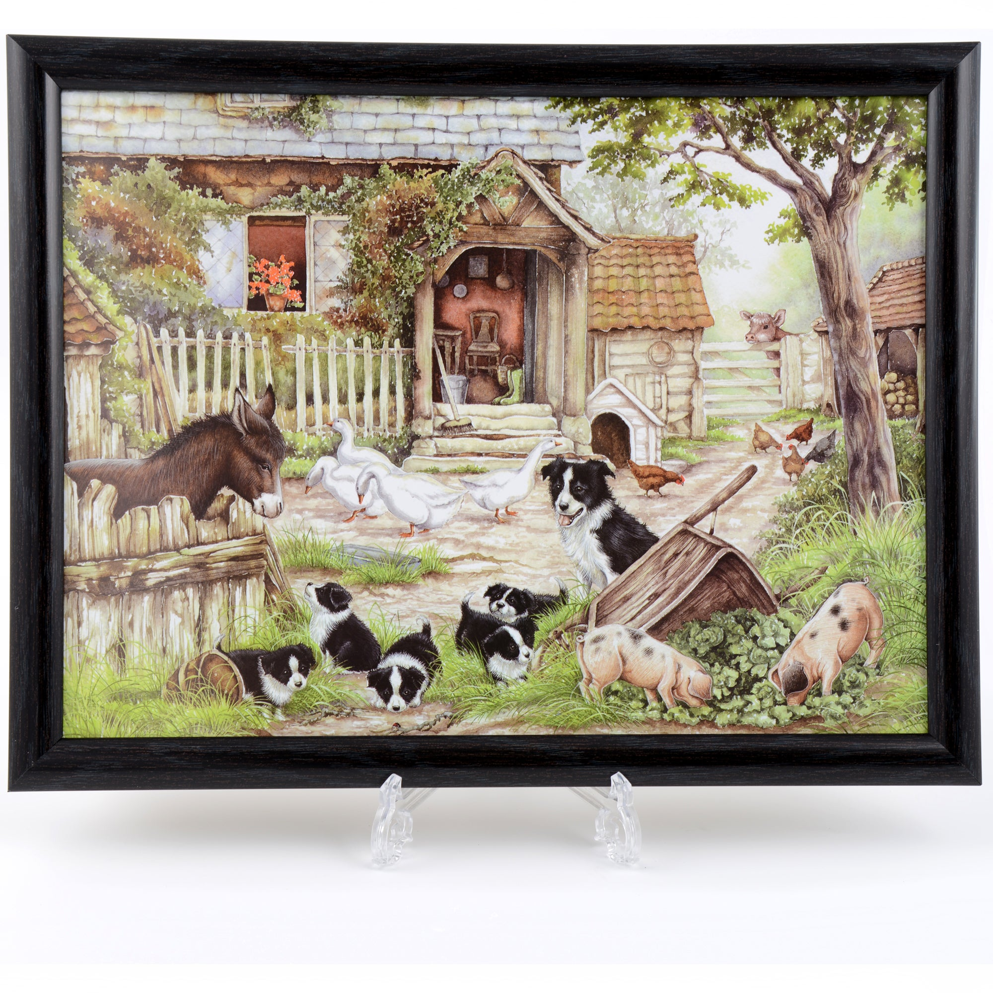 Farmyard Lap Tray