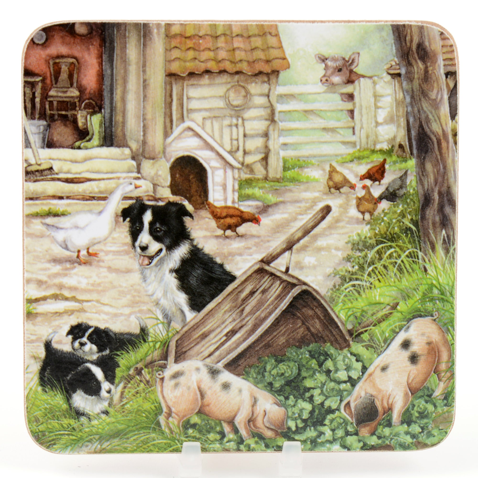 Farmyard Set of 4 Coasters
