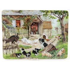 Farmyard Set of 4 Placemats