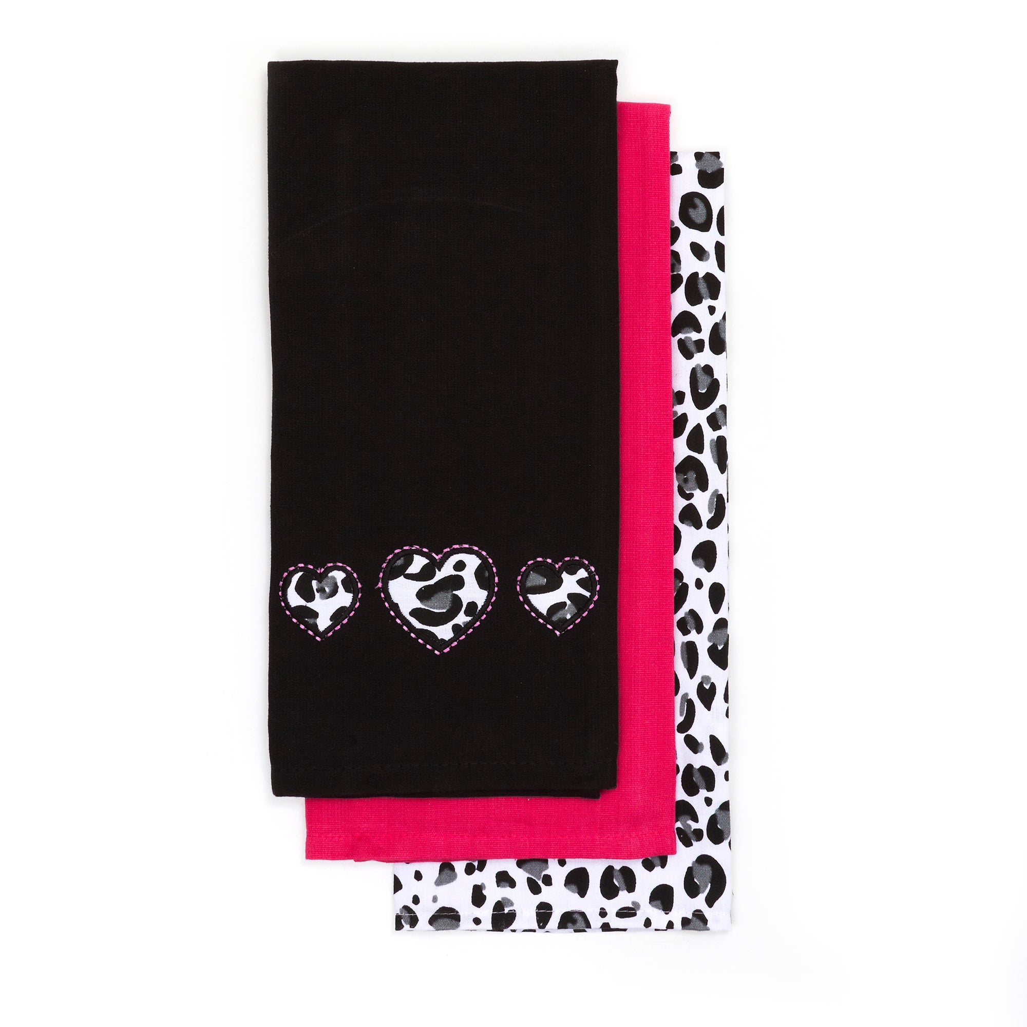 Pack of 3 Animal Print Tea Towels