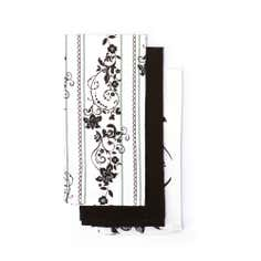 Pack of 3 Lace Tea Towels