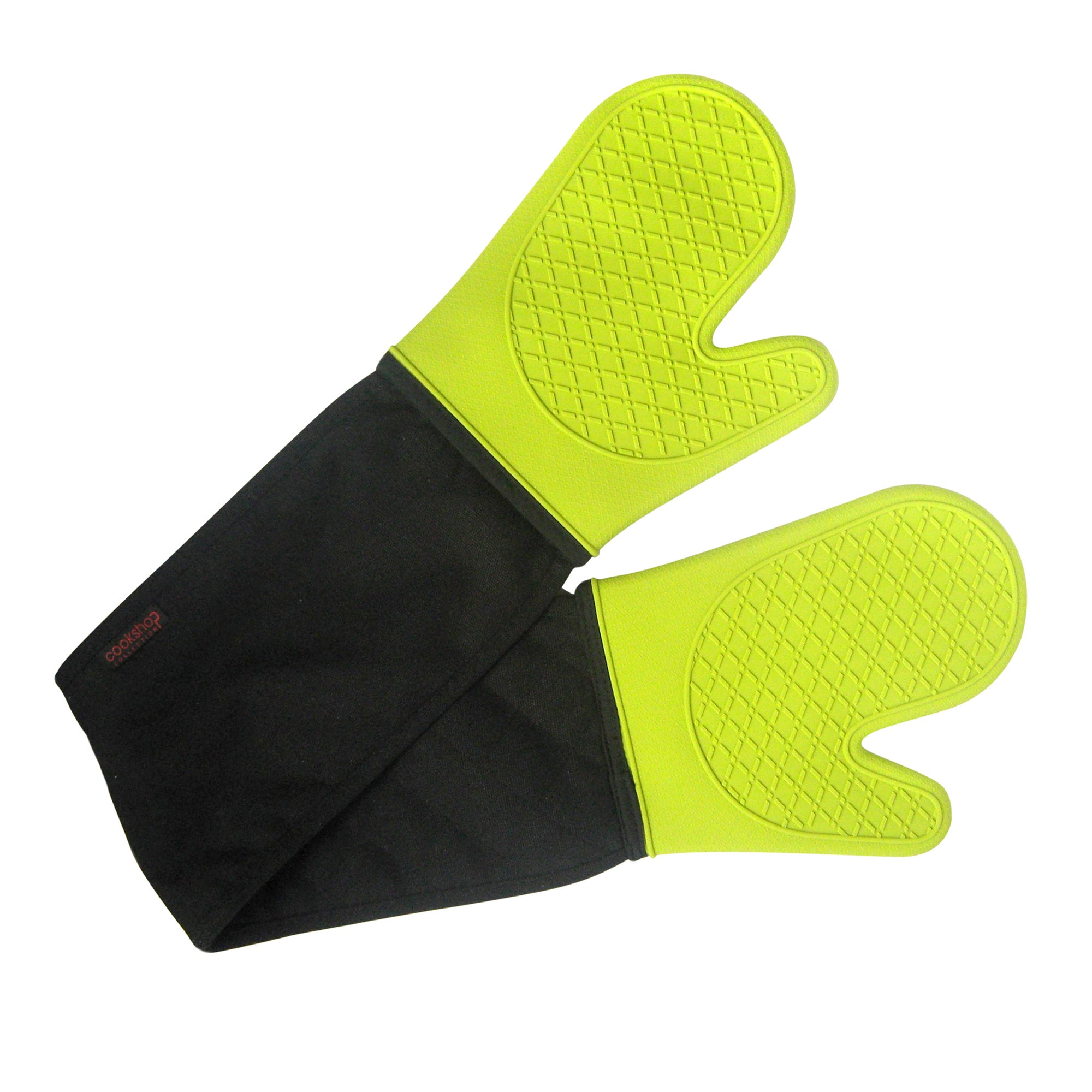 Lime Spectrum Collection Silicone Double Oven Glove