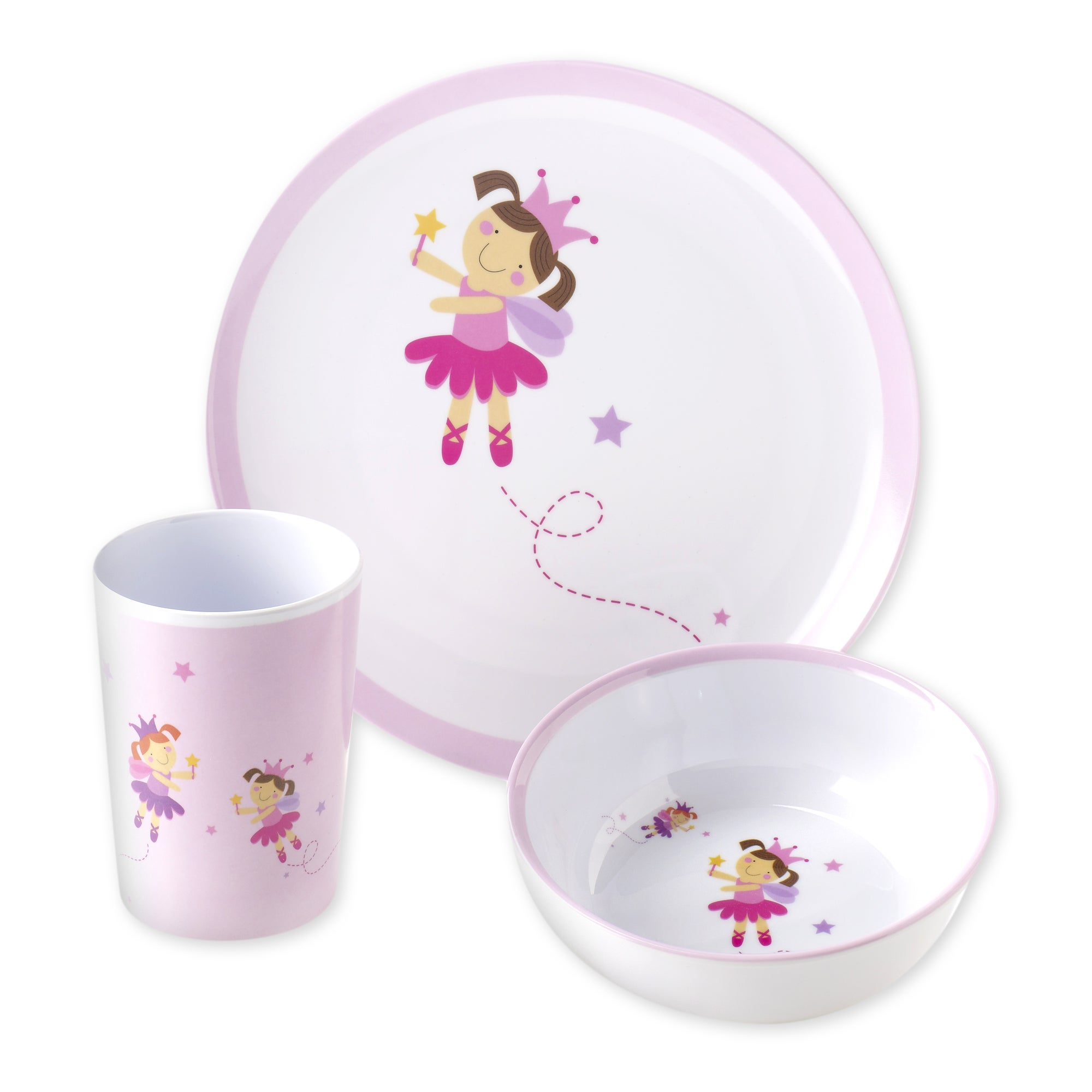 Viners Fairies 3 Piece Melamine Set