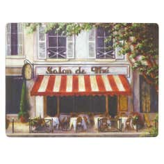 Cafe Scene Collection Set of 6 Placemats