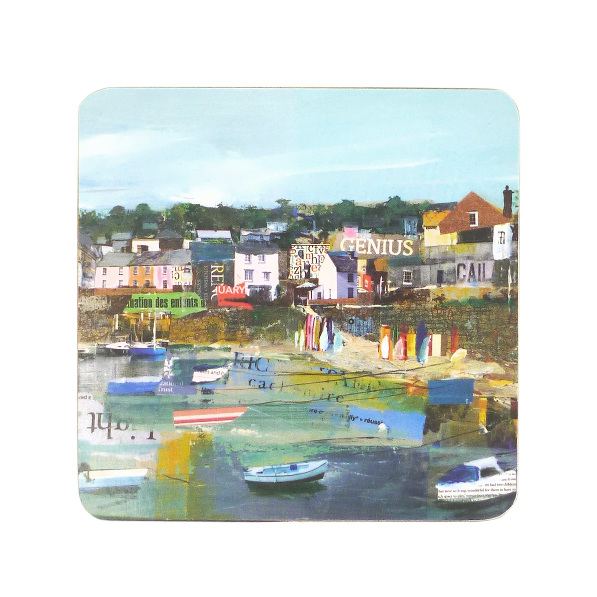 Coastal Collection Set of 6 Coasters