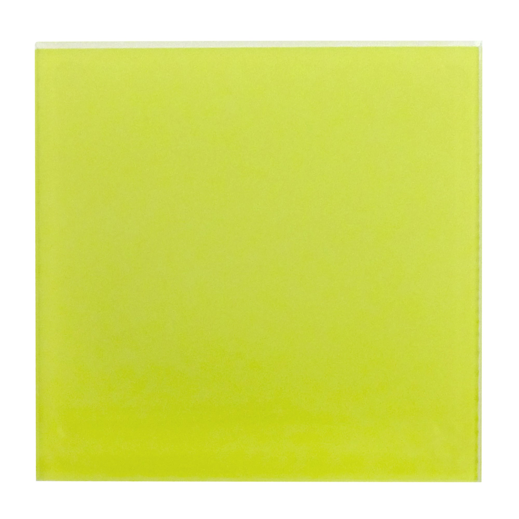 Lime Spectrum Collection Set of 4 Glass Coasters