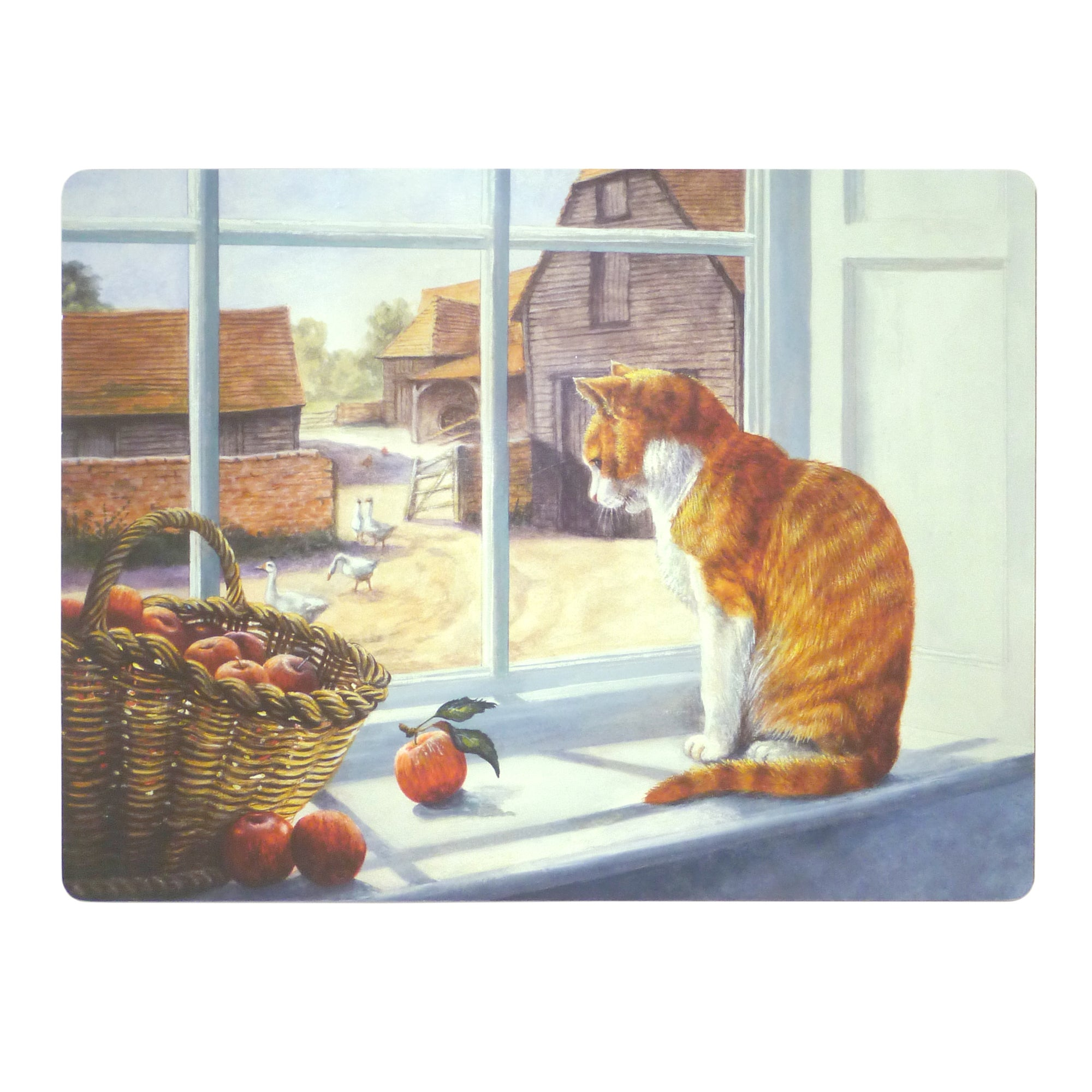 Window Cat Collection Set of 6 Placemats