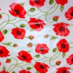 Poppies PVC Fabric