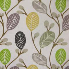 Olive Leaves PVC Fabric