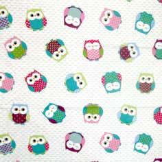 Owl PVC Fabric