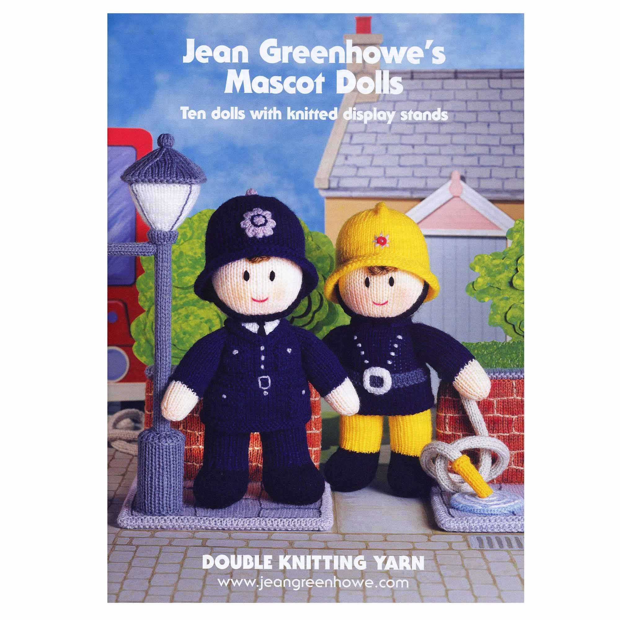Patons Jean Greenhowe's Mascot Dolls Knitting Book