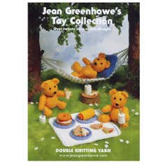 Patons Jean Greenhowe's Toy Collection Knitting Book