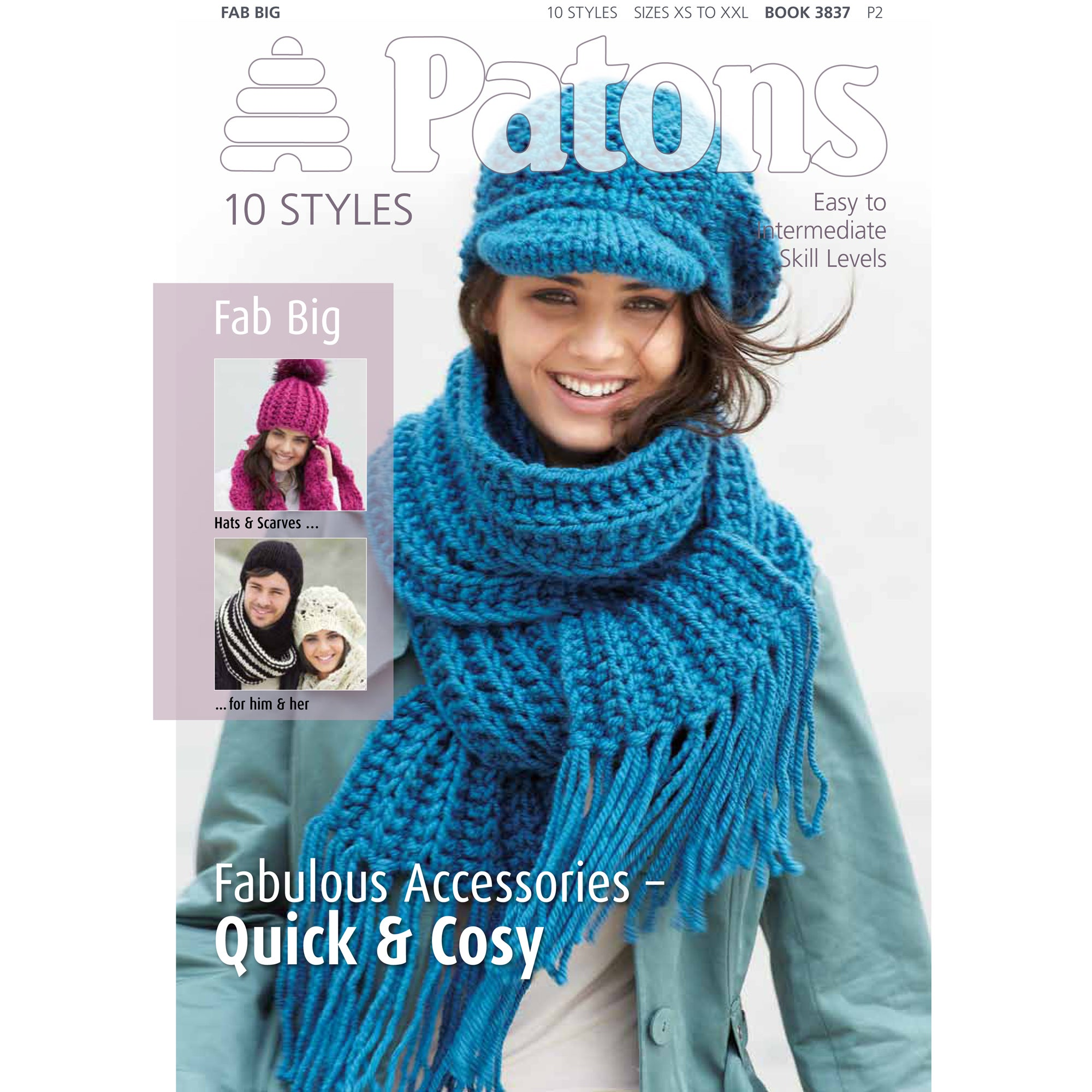 Patons Fab Big Accessories Knitting Book