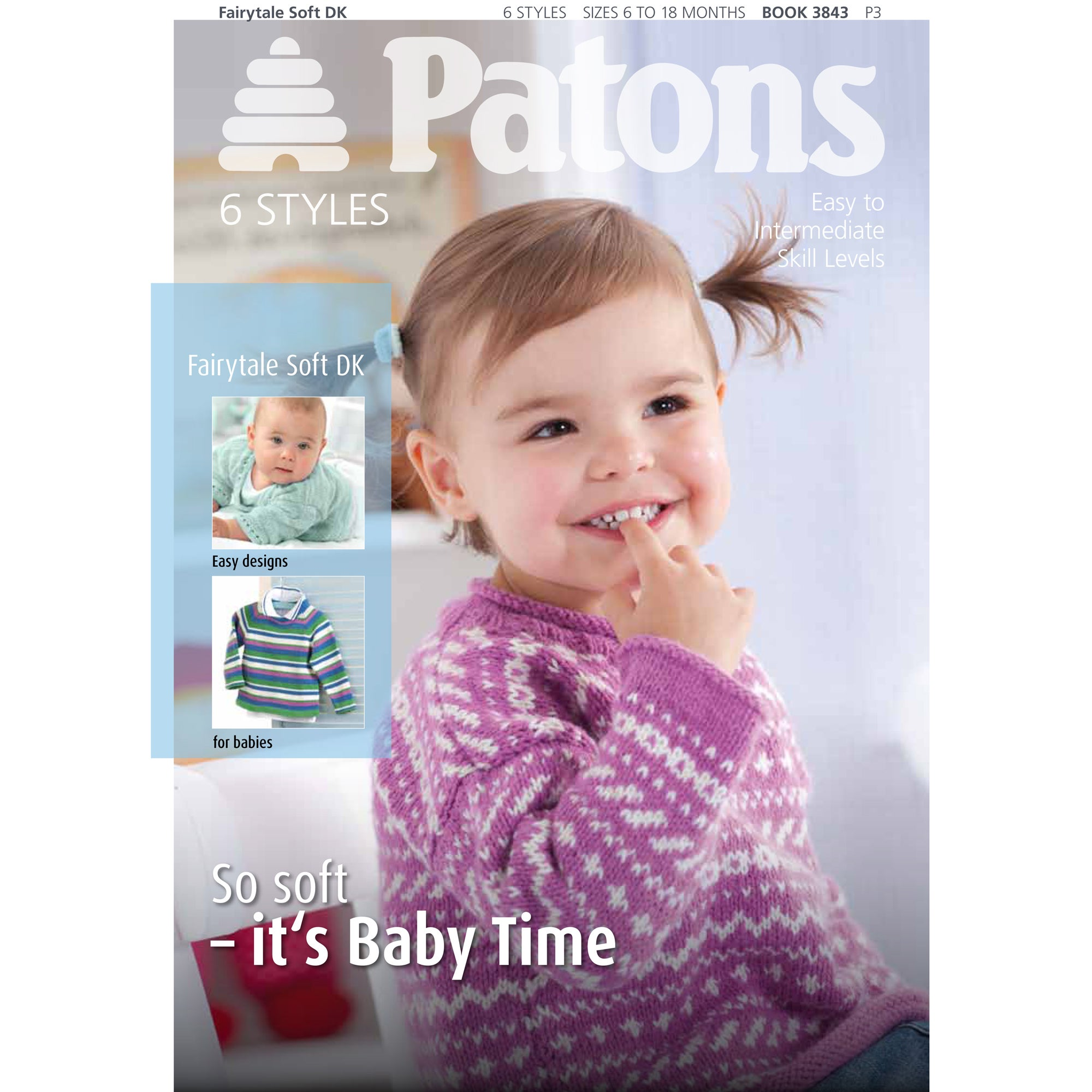 Patons Fairytale Soft DK Pattern Book
