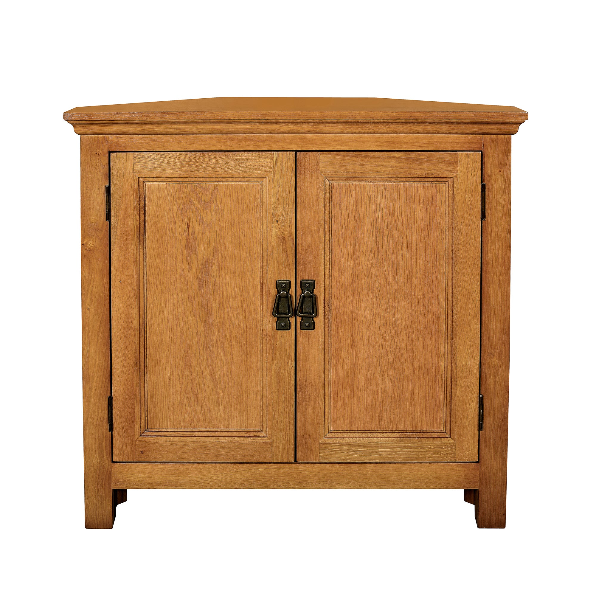 Dorchester Oak Corner Cupboard