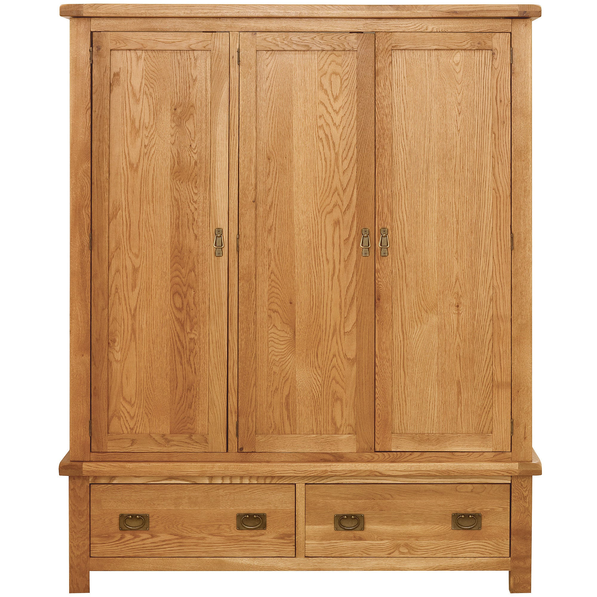 Dorchester Oak Triple Wardrobe