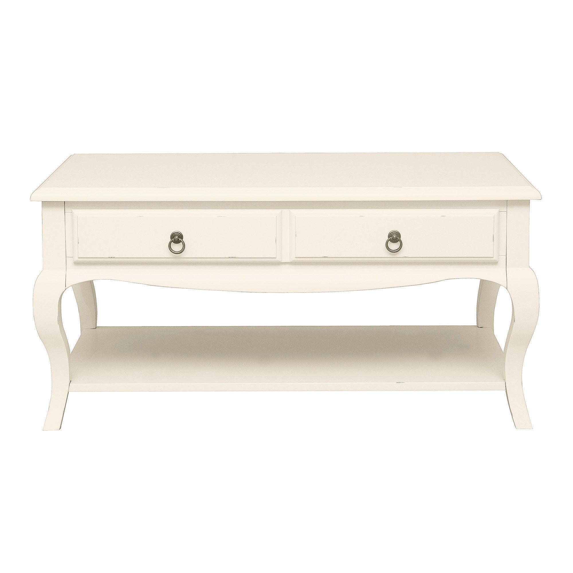 Florence Ivory Wide Coffee Table
