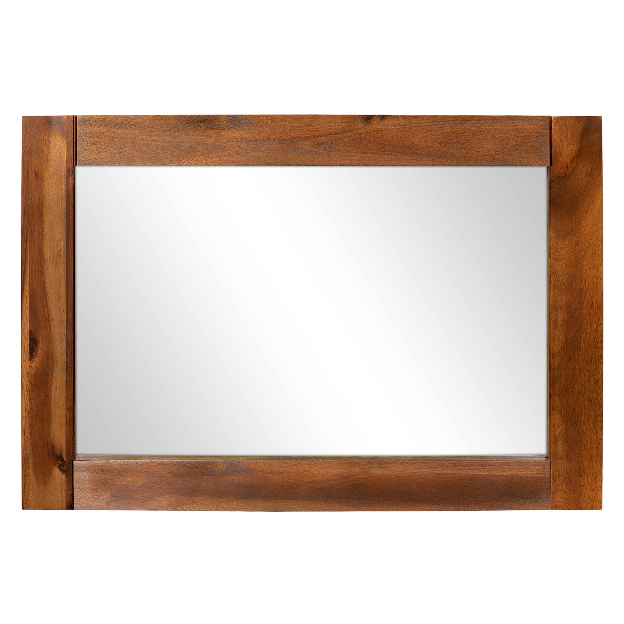 Seville Acacia Dark Wood Mirror